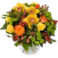 Фото: Букет цветов - Букет с орхидеями «Очарованный тобой»