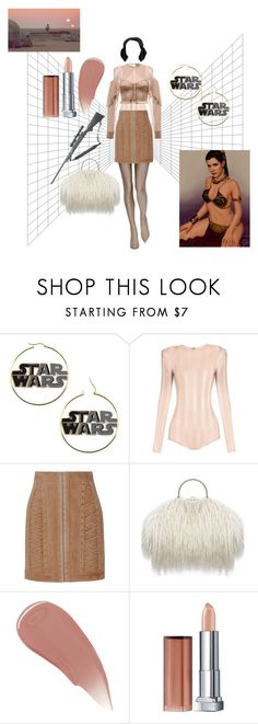 """Leia / Star Wars"" by nicolebokser on Polyvore featuring Balenciaga, Balmain, Episode, Burberry and Maybelline"