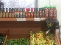 Bruce's Ghost Pepper & Ghost-Habanero Key Lime Hot Sauces, available at Bedner's Farm Fresh Market, in South Florida. www.brucesghostpepperz.com