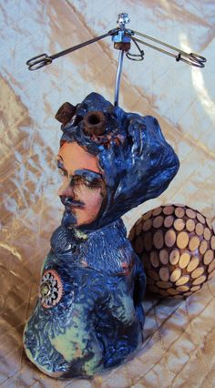 Like my page on facebook: Tonja Sell - Artist Page for 50% promo code through 3/31/14.  Ceramic Figurative Sculpture by Tonja Sell by TonjaSell on Etsy, $150.00