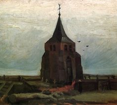 The Old Tower by Vincent Van Gogh
