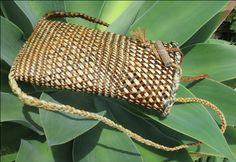 Flax Weaving - Pikau- Backpack