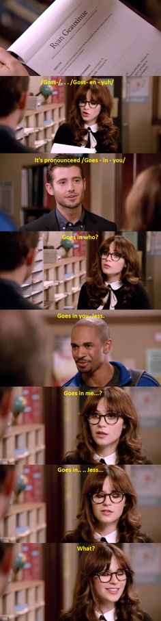 Haha, funny scene! - Jess and Ryan :D #NewGirl