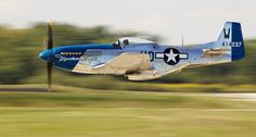 P51 Low and FAST!