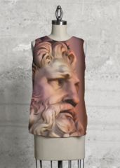 Print on silk Zeus: What a beautiful product designed by Hanna Jelinek