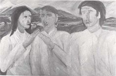 Art New Zealand Edvard Munch, New Art, New Zealand, Drawings, Painting, Maori, Sketches, Painting Art, Draw
