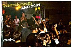 Porra quantos momentos bons foram vividos nessa época... <BR> <BR>Mutação no Quartel do Rock 02 em 2001 Maceió/AL <BR> <BR> <BR>A Banda Mutação tem o apoio de: <BR>Attrito (Roupas e acessórios) <BR>Art Way (Piercings) <BR>Ponta Verde Tattoo (Tatuagens) <BR>Studio Disco Voador (Gravações) <BR>2D Studio (Ensaios) <BR> <BR>SHOWS: <BR>Cidade: Maceió <