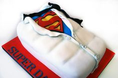 Super Daddy for Father's Day - Cake by Danielle Lainton