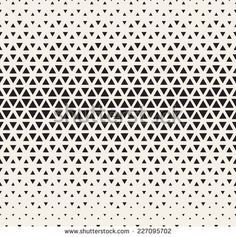 Repeating geometric tiles from triangles. Monochrome grid with thickness which changing towards the center - stock vector Geometric Patterns, Geometric Tiles, Geometric Designs, Textures Patterns, Print Patterns, Surface Pattern, Pattern Art, Pattern Design, Paper Scrapbook