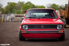 MK1 Rabbit | Volkswagen MK1 Rabbit Audi R8 brilliant red 24V 5 speed VR6 engine