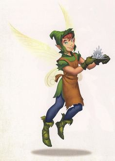 Pixie Hollow Create a Fairy | Aidan's name was once spelled Aiden, but is usually Aidan.
