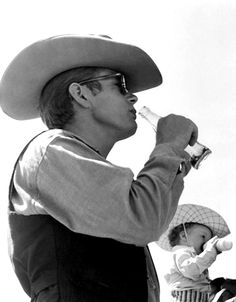 James by Sid Avery in Texas,on the set of Giant ,1955