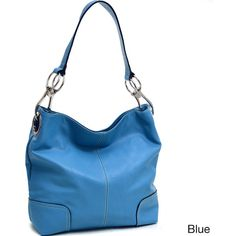 Dasein Patched Corner Hobo Handbag (150 BRL) ❤ liked on Polyvore featuring bags, handbags, shoulder bags, black, leather hobo purses, purse shoulder bag, shoulder strap handbags, hand bags and leather handbags