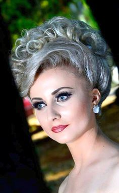 1000 Images About The Old Styles Bouffant Wetset Hair