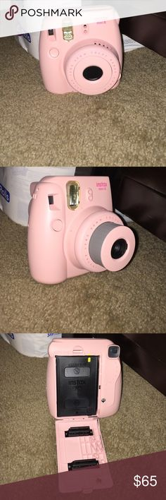 instax mini 8 light pink , great condition , film not include fiji Other
