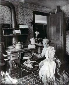 Wood burning cooker
