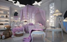 Stunning Purple Room Decorating Ideas - http://interiordesign4.com/stunning-purple-room-decorating-ideas/