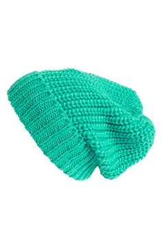 Chunky Knit Beanie in 'taupe cinder' - available at #Nordstrom