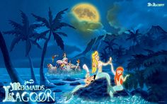Google Image Result for http://th09.deviantart.net/fs44/PRE/i/2009/095/4/8/Disney___Mermaids_Lagoon_by_Alce1977.jpg