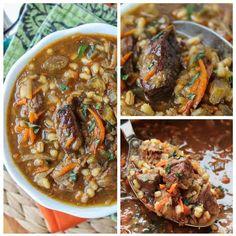 Beef Barley Soup Slow Cooker