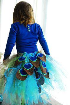 Disfraz de pavo real