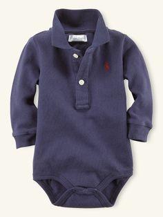 Polo Mesh Bodysuit - Layette One-Pieces - RalphLauren.com