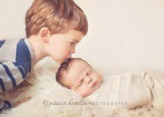 newborn + sibling