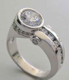 contemporary wedding rings | Engagement Ring Settings