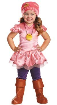 Deluxe Izzy Girls Costume - Jake and the Neverland Pirates Costumes