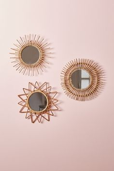 Magical Thinking Woven Wall Mirror - Urban Outfitters