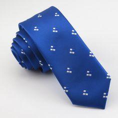 men royalblue slim tie necktie Fashion boutique ties men's white little new pattern of fine quality workmanship tie for boys Slim Tie, Silk Bow Ties, Fashion Boutique, Royal Blue, Kids Fashion, Boys, Young Man, Accessories, Pattern