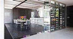 La Villa L in Paris by Olivier Lempereur Caves, Wine Credenza, Light And Space, In Vino Veritas, Wine Fridge, Villa Design, Top Interior Designers, Wine Storage, Home Decor Trends