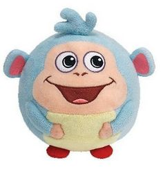 8c0795a45c6 Current 438  Ty Nickelodeon Beanie Ballz 13 Plush Boots The Dora Monkey  Large Ball ~