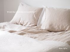 J.F. by Finlayson linen sheets feel as soft and sweet as marshmallows