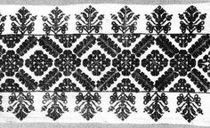 Párnavég, szálánvarrott hímzéssel (Kalotaszeg, v. Kolozs m., 19. sz.) Bp. Néprajzi Múzeum