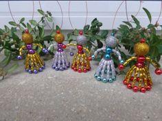 Christmas Crafts, Christmas Ornaments, Deck The Halls, Fuzz, Minion, Beads, Holiday Decor, Home Decor, Xmas Ornaments