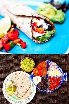 Hemsley & Hemsley: Buckwheat Burritos really crepes Buckwheat Recipes, Mexican Food Recipes, Vegetarian Recipes, Cooking Recipes, Healthy Recipes, Vegetarian Wraps, Healthy Meals, Healthy Food, Breakfast