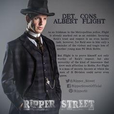 Detective Constable Albert Flight - Damien Molony
