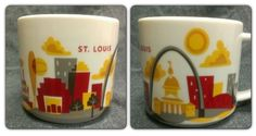 Starbucks City Mug You Are Here in St Louis