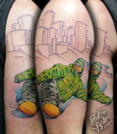 Mile High City Tattoos Snowboard tattoos – sessioned.com