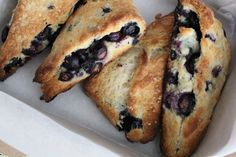 blueberry scones  I've mentioned in the past how much I love scones.  Nothing has changed.  In fact, now that blueberries are in season and we have guests on a fairly regular basis, scones are a relatively fre…