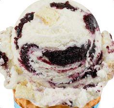 Baskin-Robbins |  Blueberry Cheesecake Ice Cream