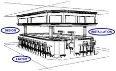 restaurant bar designs layouts | restaurant design layout .