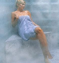 Many health spas, gyms and clubs offer steam baths that have numerous benefits. steam bath, the body temperature becomes very high, which in turn destroys most of the viruses and bacteria that. Benefits Of Steam Bath, Sauna Health Benefits, Bath Benefits, Home Remedies For Anxiety, Indoor Water Features, Gout Remedies, Skin Detox, Anxiety Treatment