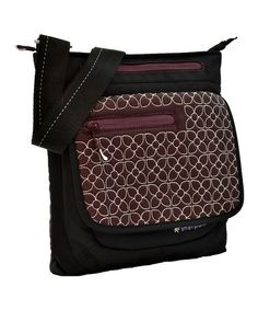 Take a look at this Plum Embroidered Jag Crossbody Bag by Sherpani on #zulily today! $30 !!