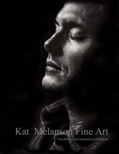 """""""Last but not least…Scratchboard art. A knife and a black board are used to create it. Supernatural Fan Art, Supernatural Beings, Boy Walking, Walking Dead, Scratchboard Art, Men Of Letters, Fanart, Dean Winchester, Jensen Ackles"""
