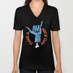 Gnar Life V-neck T-shirt