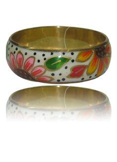 Flower Printed Kada Online at Affordable Price