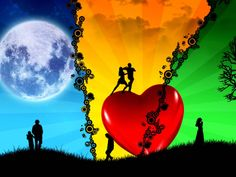 This is the biggest collection of Best Ever Romantic Valentine's Wallpapers… Valentine is coming. Setting up a romantic valentine's wallpaper on your desktop screen can put a sweet impact on… Love Images, Love Photos, Love Pictures, Pictures Images, Couple Wallpaper, Love Wallpaper, Romantic Love, Beautiful Love, 7 Love Languages