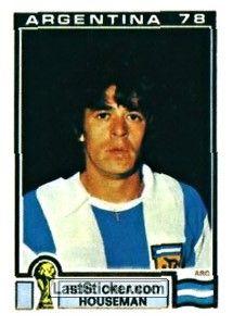 Sticker 55: Rene Orlando Housemann - Panini FIFA World Cup Argentina 1978 - laststicker.com